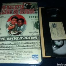 Cine: UN MALETIN LLENO DE DINERO- VHS- JEFF GOLDBLUM- DESCATALOGADA. Lote 152578965