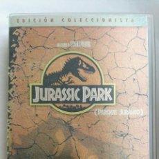 Cine: JURASSIC PARK PARQUE JURÁSICO EDICIÓN COLECCIONISTA VHS. Lote 152691268