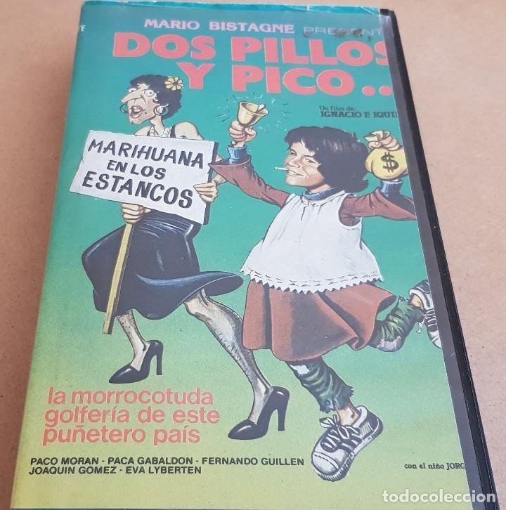 Cine: DOS PILLOS Y PICO...PACO MORAN - PACA GABALDÓN / VHS DE BUENA CALIDAD. - Foto 2 - 153077218