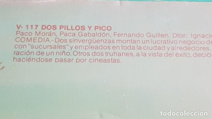 Cine: DOS PILLOS Y PICO...PACO MORAN - PACA GABALDÓN / VHS DE BUENA CALIDAD. - Foto 3 - 153077218