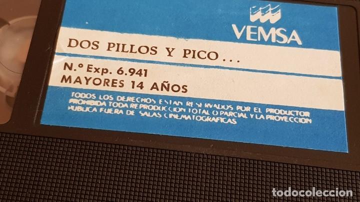 Cine: DOS PILLOS Y PICO...PACO MORAN - PACA GABALDÓN / VHS DE BUENA CALIDAD. - Foto 5 - 153077218