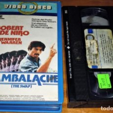 Cine: CAMBALACHE . ROBERT DE NIRO . VHS - PEDIDO MINIMO 6 EUROS LEER. Lote 154050390