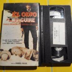 Cine: VHS- EL ODIO DE LOS MCGUIRE- CHARLES BRONSON LEE MARVIN. Lote 154373753