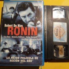Cine: VHS- RONIN- ROBERT DE NIRO- CAJA GRANDE VIDEOCLUB. Lote 154379261
