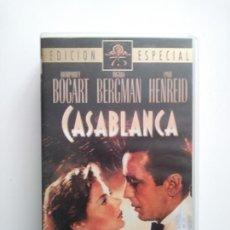 Cine: CASABLANCA .VHS. Lote 154492257
