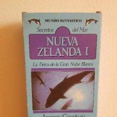 Cine: CINTA VHS_NUEVA ZELANDA I-JACQUES COSTEAU-LA TIERRA DE LAS NUVE BLANCA.. Lote 155033286