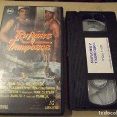 Cine: RUFIANES Y TRAMPOSOS - VERNEUIL - JEAN PAUL BELMONDO , JACQUES VILLERENT - LANKASTER. Lote 155251298
