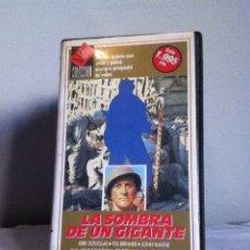 Cine: VHS. LA SOMBRA DE UN GIGANTE. Lote 155329053