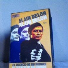 Cine: VHS. EL SILENCIO DE UN HOMBRE. Lote 155329581