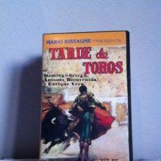 Cine: VHS. TARDE DE TOROS. Lote 155329837