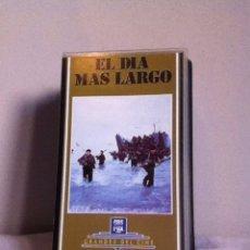 Cine: VHS. EL DÍA MÁS LARGO. Lote 155330593