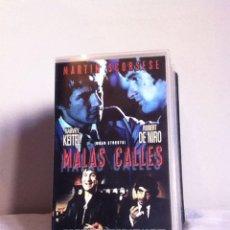 Cine: VHS. MALAS CALLES. Lote 155330729