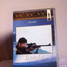 Cine: VHS. EL CAZADOR. Lote 155331090