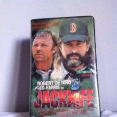 Cine: VHS. JACKNIFE. CAJA GRANDE. Lote 155331976