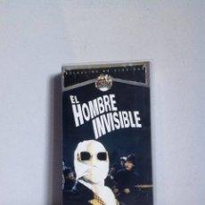Cine: VHS. EL HOMBRE INVISIBLE. Lote 155333140