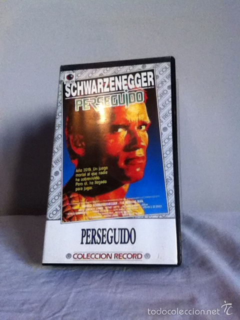 VHS. PERSEGUIDO (Cine - Películas - VHS)