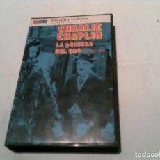 Cine: CINTA DE CHARLIE CHAPLIN LA QUIMERA DEL ORO EDICION POLYGRAM VIDEO 1983. Lote 155415158