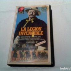 Cine: CLASICO DEL OESTE LA LEGION INVENCIBLE EN VIDEO. Lote 155415566