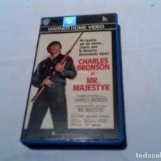 Cine: PELICULA MR ,MAJESTYK DE CHARLES BRONSON EDICION WARNER HOME VIDEO. Lote 155415786