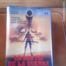 Cine: PELICULA LA BESTIA DE LA GUERRA EDICION CAJA GRANDE AÑO 1988. Lote 155432538