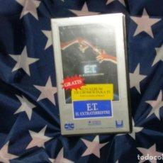 Cine: E.T EL EXTRATERRESTRE PRECINTADA CIC VIDEO. Lote 155500930