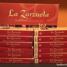 Cine: COLECCIÓN DE 16 ZARZUELAS EN VHS. Lote 155513785