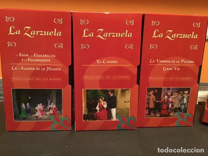 Cine: COLECCIÓN DE 16 ZARZUELAS EN VHS - Foto 2 - 155513785
