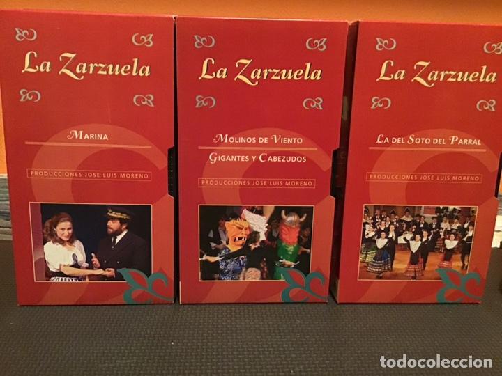 Cine: COLECCIÓN DE 16 ZARZUELAS EN VHS - Foto 3 - 155513785