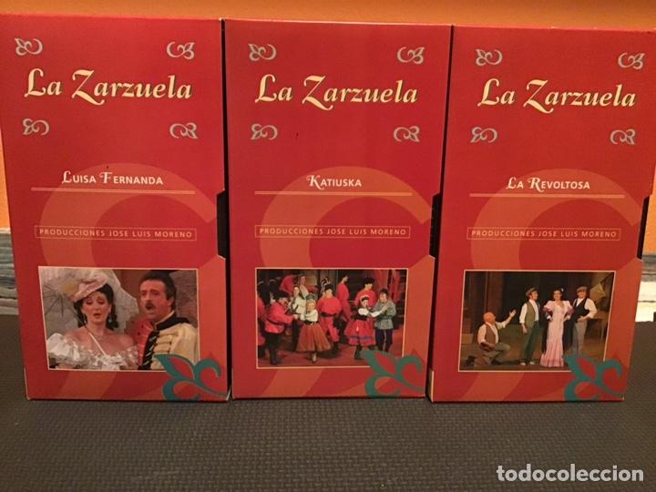 Cine: COLECCIÓN DE 16 ZARZUELAS EN VHS - Foto 4 - 155513785