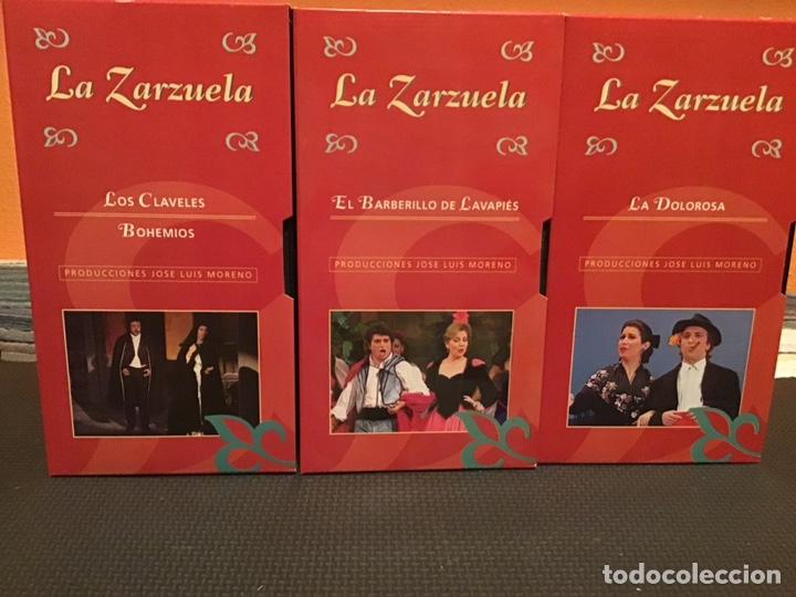 Cine: COLECCIÓN DE 16 ZARZUELAS EN VHS - Foto 5 - 155513785