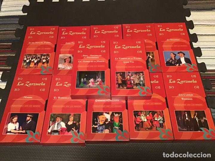 Cine: COLECCIÓN DE 16 ZARZUELAS EN VHS - Foto 6 - 155513785