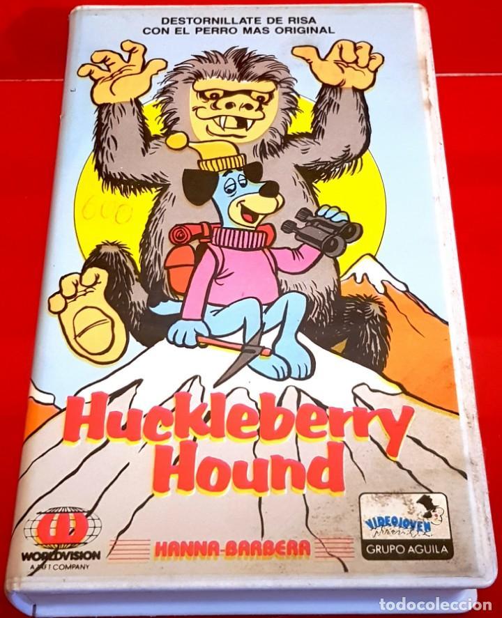 HUCKLEBERRY HOUND - 1ª EDICION -RAREZA DIBUJOS ANIMADOS (Cine - Películas - VHS)