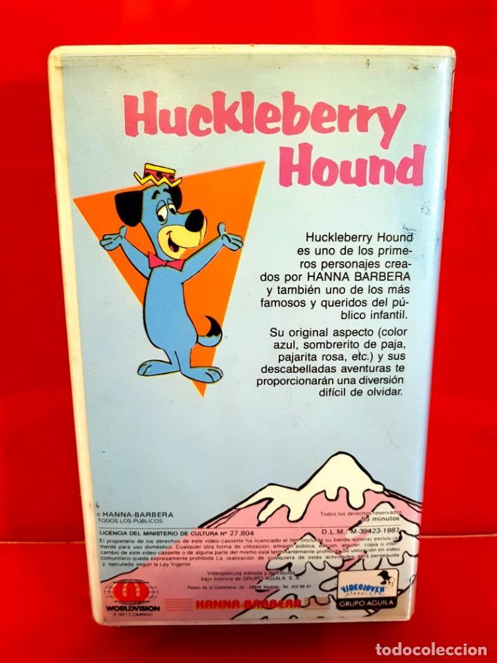Cine: HUCKLEBERRY HOUND - 1ª EDICION -RAREZA DIBUJOS ANIMADOS - Foto 3 - 155536994