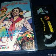 Cine: SUSPIROS DE TRIANA- VHS- PAQUITA RICO. Lote 155926288