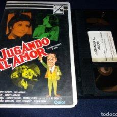 Cine: JUGANDO AL AMOR- VHS- LINA MORGAN. Lote 155926988