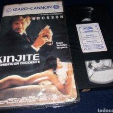 Cine: KINJITE PROHIBIDO EN OCCIDENTE- VHS- CHARLES BRONSON- 1 EDICION IZARO CANNON. Lote 155927274