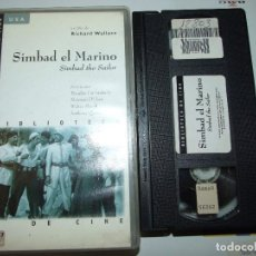 Cine: SIMBAD EL MARINO - RICHARD WALLACE - DOUGLAS FAIRBANKS , MAUREEN O'HARA - MANGA 1997. Lote 155927402