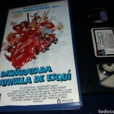 Cine: DISPARATADA PATRULLA DE ESQUI- VHS- RICHARD CORRELL- DESCATALOGADA. Lote 155967650