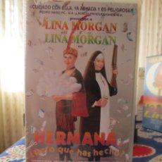 Cine: LINA MORGAN, ¿ HERMANA PERO QUE HAS HECHO ? PRECINTADA. Lote 155968714