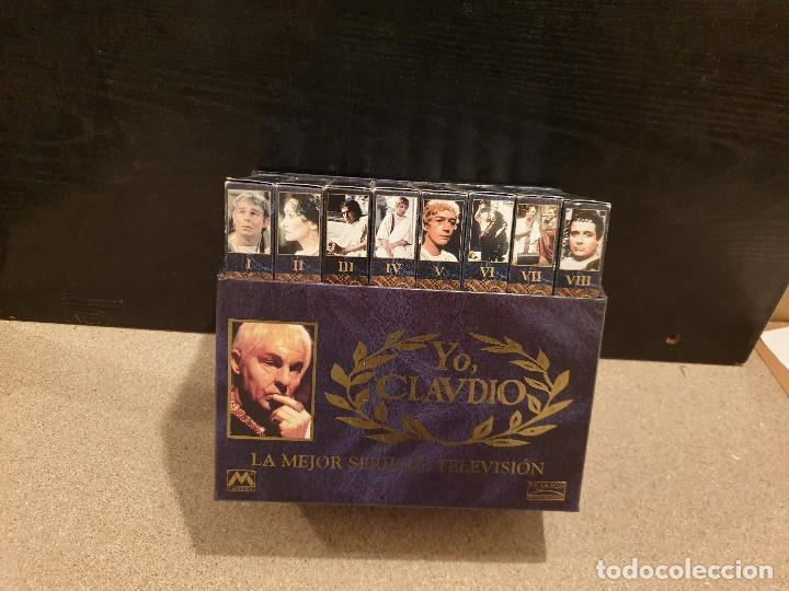 YO, CLAUDIO.....LA MEJOR SERIE DE TELEVISIÓN....8 VHS... (Cine - Películas - VHS)