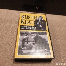 Cine: BUSTER KEATON....EL MAQUINISTA DE LA GENERAL....VHS.... Lote 156232718