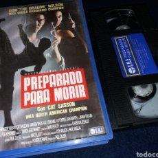 Cine: PREPARADO PARA MORIR- VHS- DON THE DRAGON WILSON- KICKBOXING. Lote 156234373