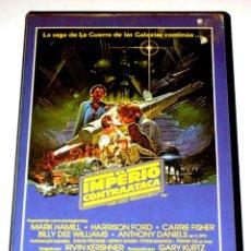Cine: EL IMPERIO CONTRAATACA (1980) - IRVIN KERSHNER MARK HAMMILL HARRISON FORD CARRIE FISHER VHS 1ª ED.. Lote 156571094