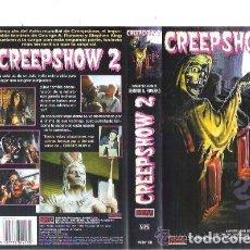 Cine: VHS CREEPSHOW 2 - STEPHEN KING - GEORGE A. ROMERO. Lote 156653738