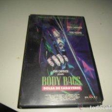 Cine: VHS- BODY BAGS (BOLSA DE CADAVERES) / JOHN CARPENTER. Lote 156653942