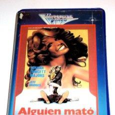 Cine: ALGUIEN MATO A SU MARIDO (1978) - LAMONT JOHNSON FARRAH FAWCETT JEFF BRIDGES JOHN WOOD VHS. Lote 156654494