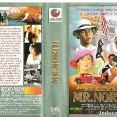 Cine: VHS MR. NORTH - DANNY HUSTON - ANTHONY EDWARDS - ROBERT MITCHUM. Lote 156654710