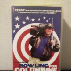 Cine: BOWLING FOR COLUMBINE.VHS.. Lote 156654860