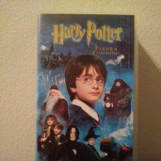Cine: HARRY POTTER Y LA PIEDRA FILOSOFAL.VHS. Lote 156655320