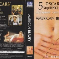 Cine: VHS - AMERICAN BEAUTY - KEVIN SPACEY, ANNETTE BENING, SAM MENDES -. Lote 156655354